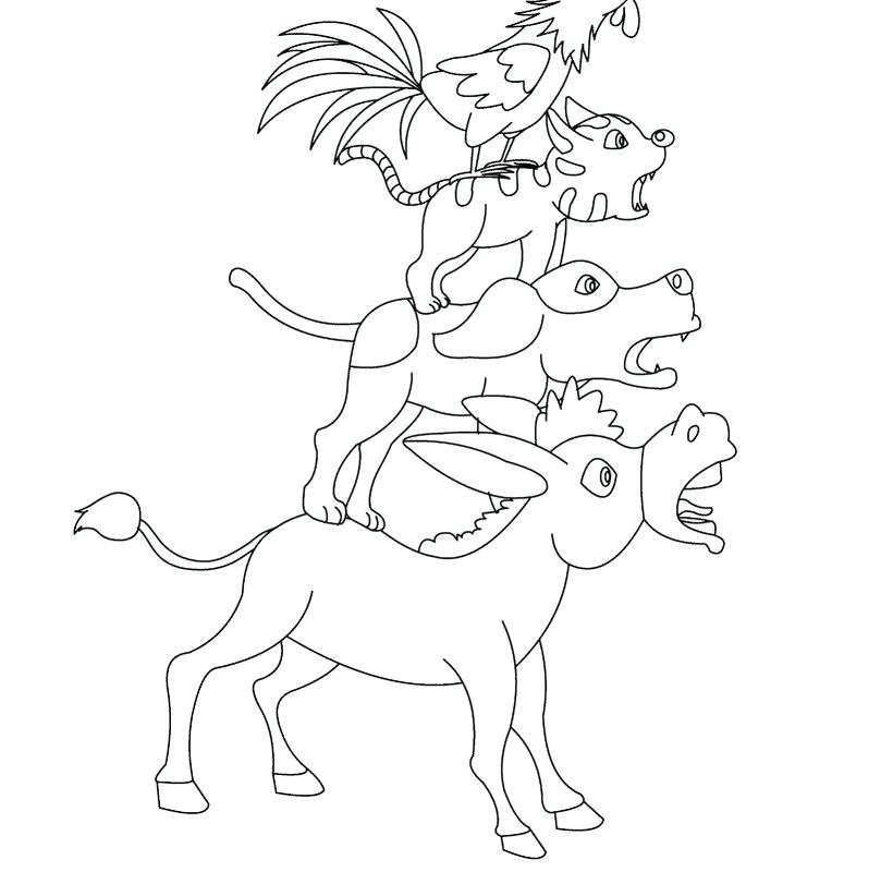 820x800 Dwarfs Coloring Pages Kids Under Snow White And The Seven
