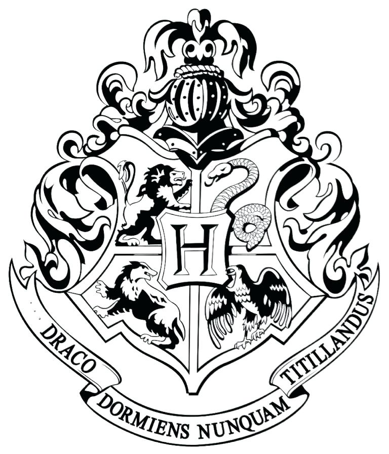 gryffindor coloring page 8