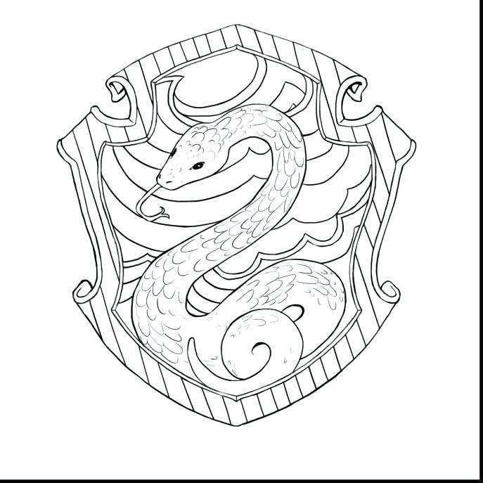 gryffindor crest coloring pages 11