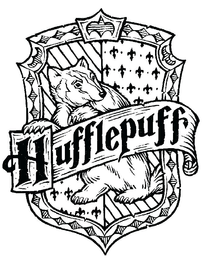 gryffindor crest coloring pages 12