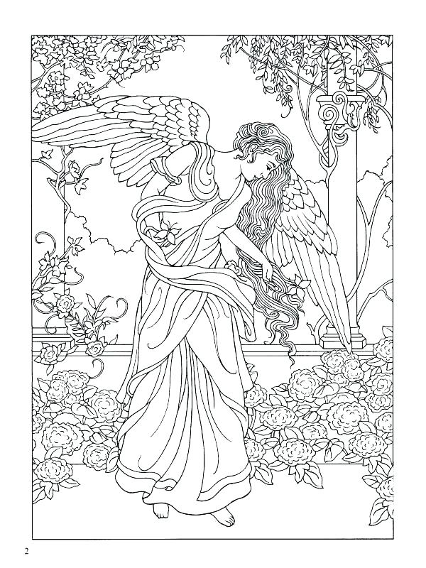 600x800 Coloring Pages Angels Guardian Angel Coloring Pages Angels