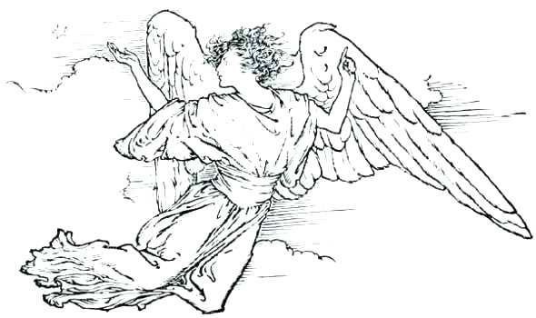 590x350 Guardian Angel Coloring Pages Amazing Angel Coloring Pages