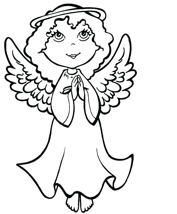 619x750 Angel Coloring Pages Printable Guardian Angel Coloring Page Angel