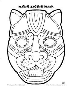 236x288 Masks Of Mexico To Color Temple Of The Jaguar