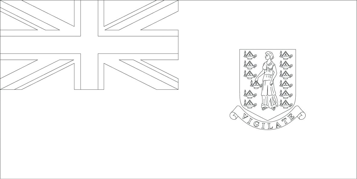 1181x591 Flag Guatemala Coloring Page World Flags Pages