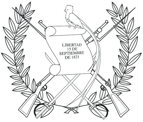 500x424 Guatemala Flag Coloring Page Coat Of Arms Coloring Page Simply Add