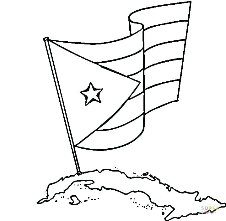 720x706 Guatemala Flag Coloring Page Flag Coloring Page N Flag Coloring