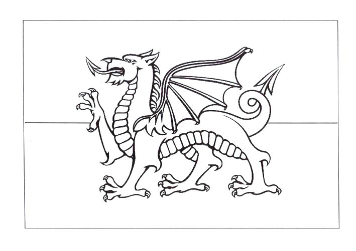 709x501 Costa Rica Flag Coloring Page Coloring Flag Flag Coloring Page