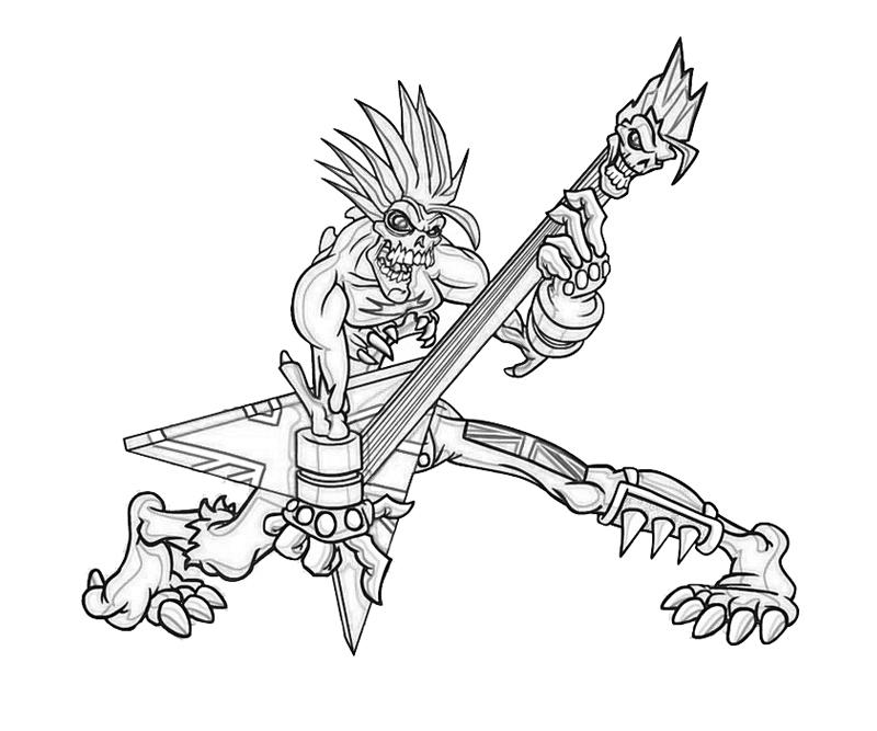 800x667 Guitar Coloring Pages To Print