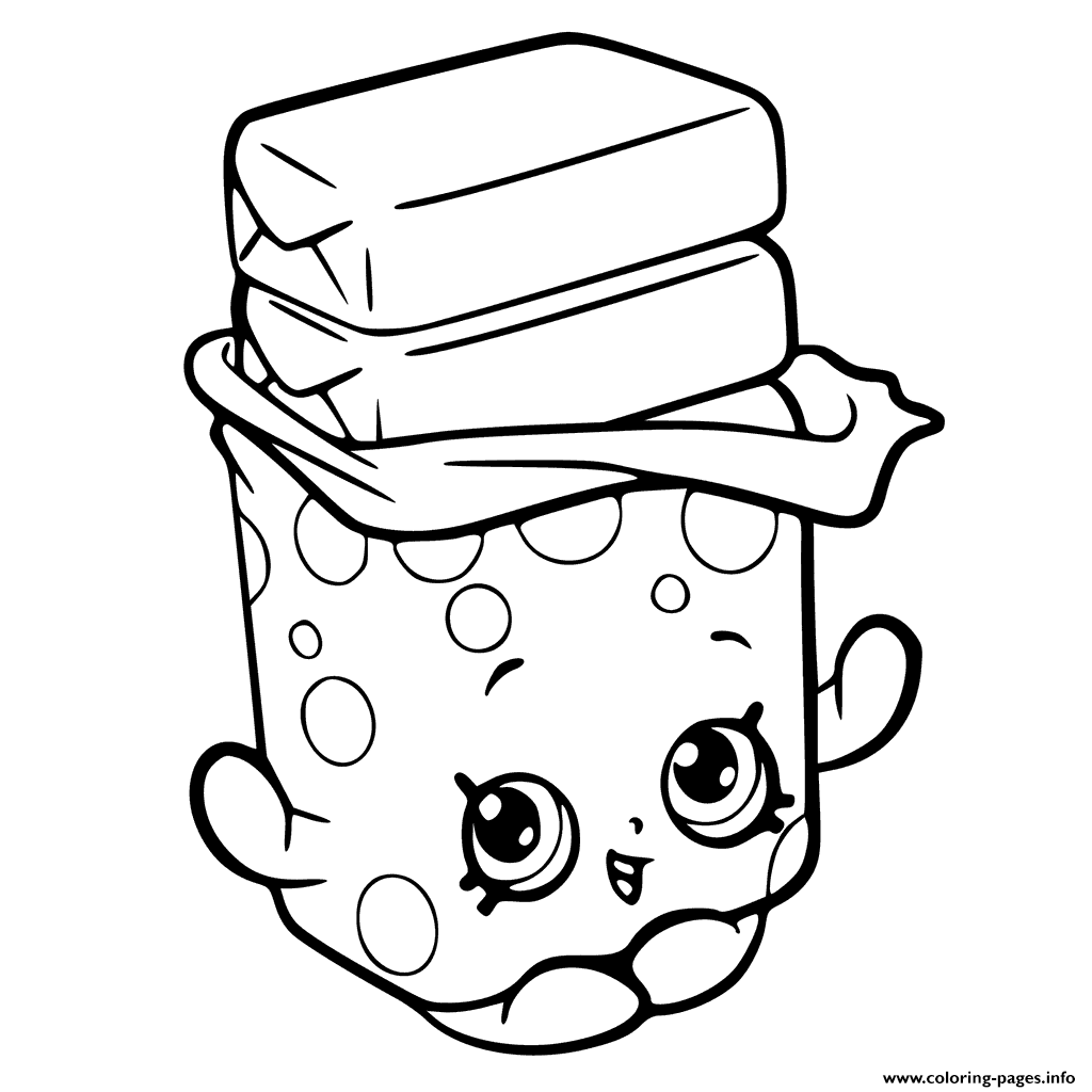 1024x1024 Print Bobby Bubble Gum Shopkins Season Coloring Pages Shopkins