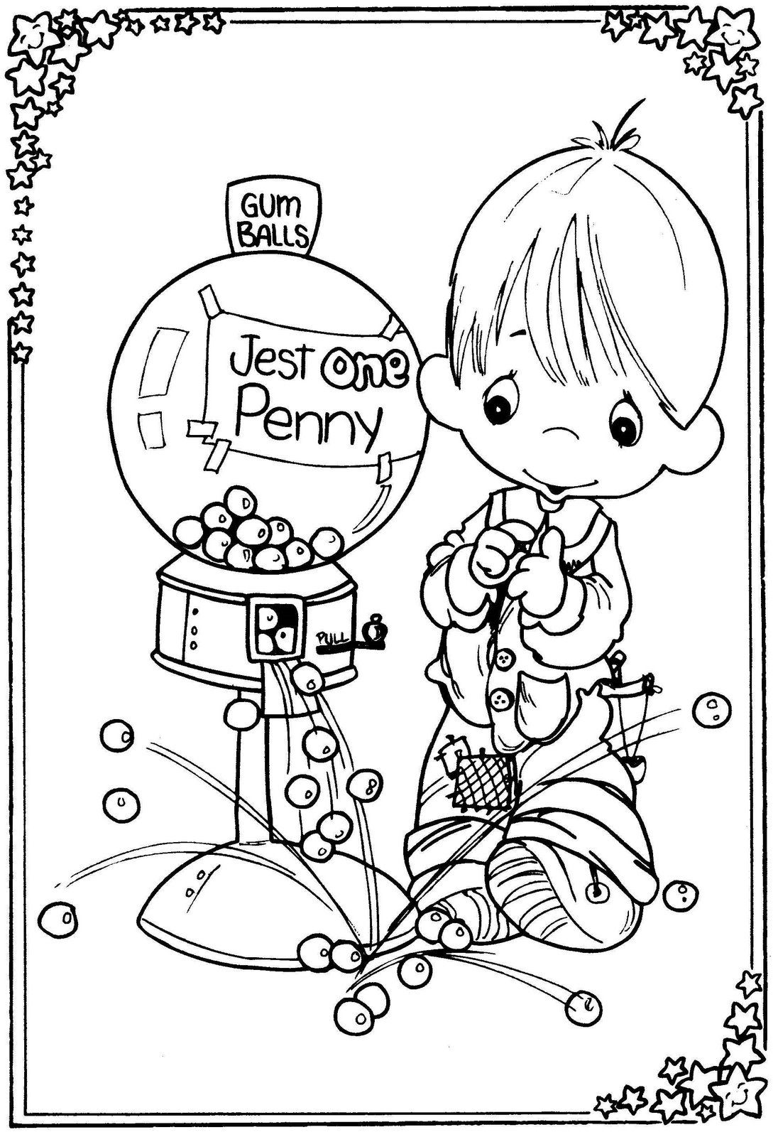 1096x1600 Precious Moments Coloring Pages Precious Moments Drawings Child