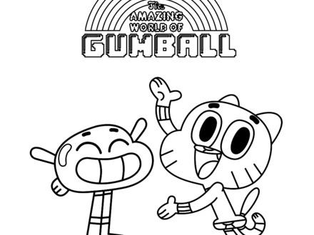 440x330 Color The Gumball Machine Gumball Machine, Gumball And, Gumball