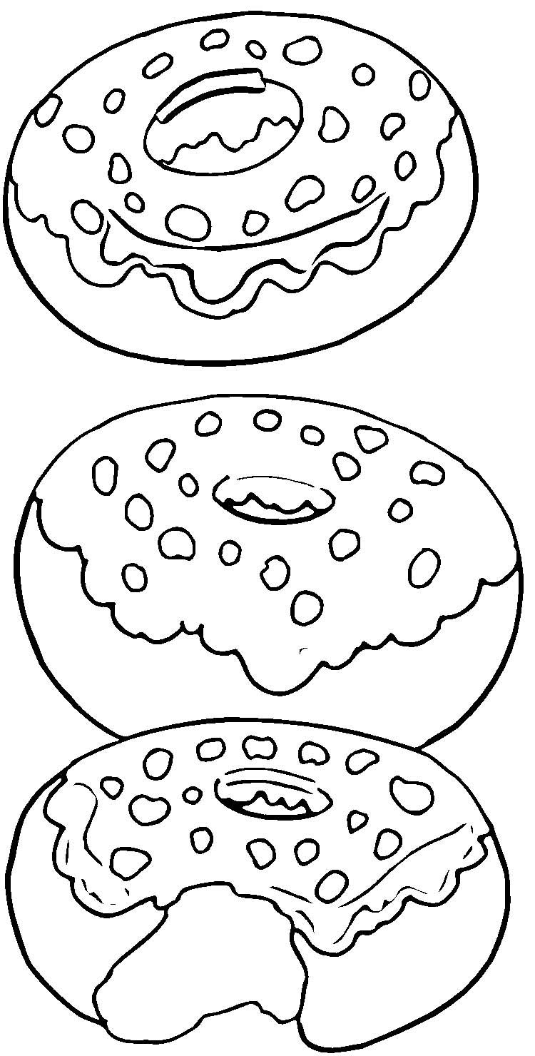 750x1480 Donut Shopkin Coloring Pages Ava's Birthday