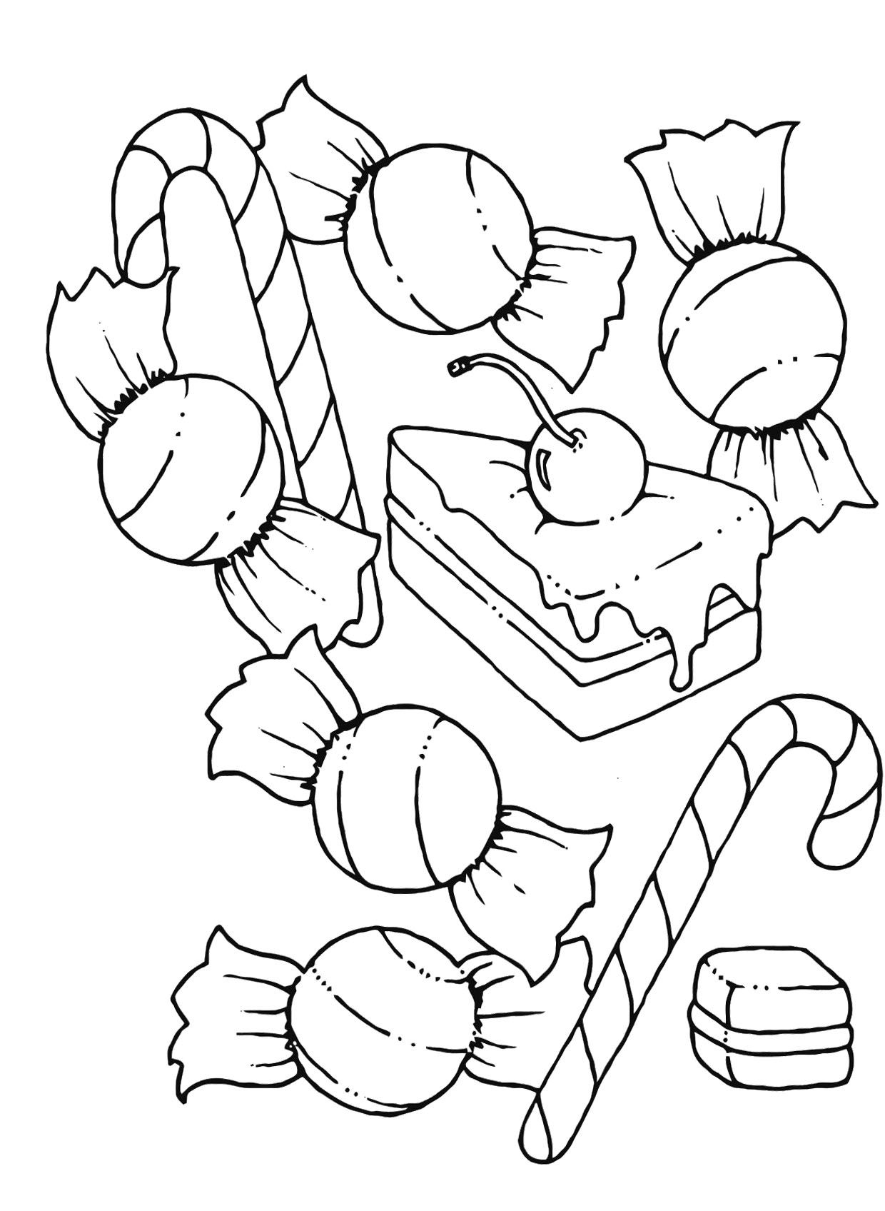 1240x1696 Candy Coloring Pages Free Coloring