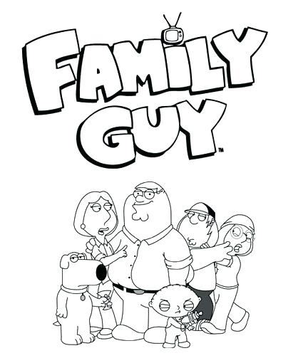 425x510 Coloring Stewie Griffin Coloring Pages Family Guy Colouring