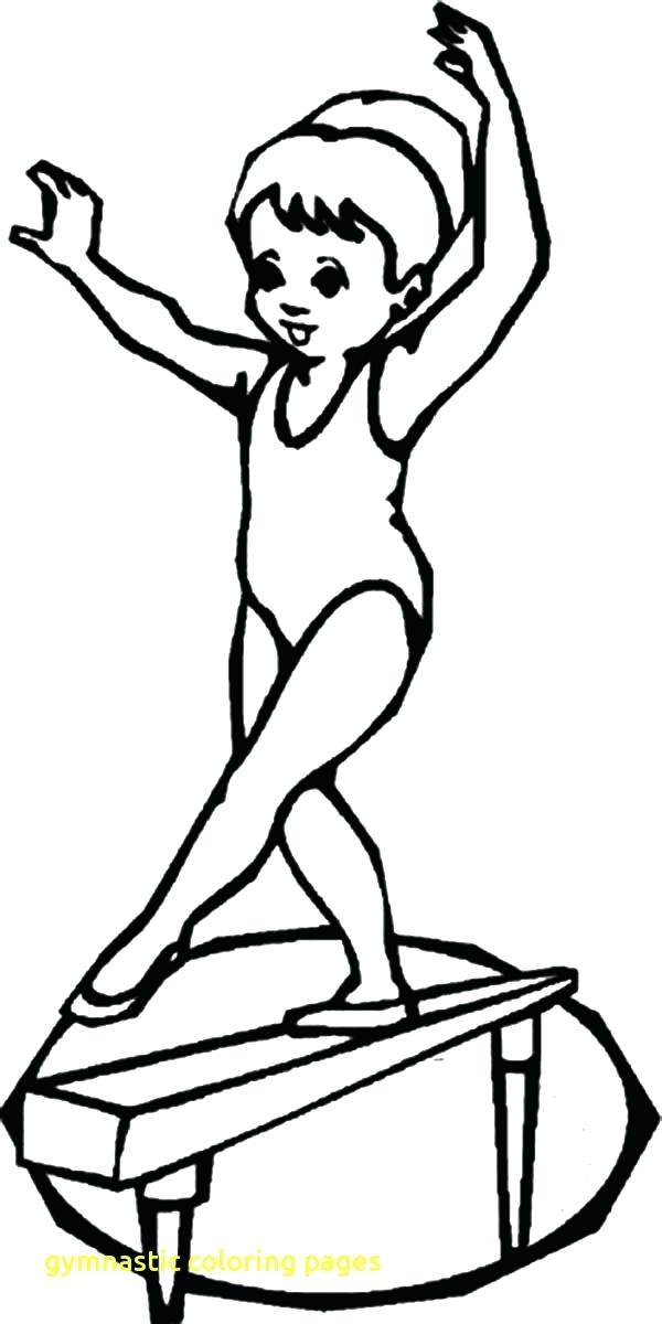 600x1200 Gymnast Coloring Pages Gymnastic Coloring Pages With Gymnastics