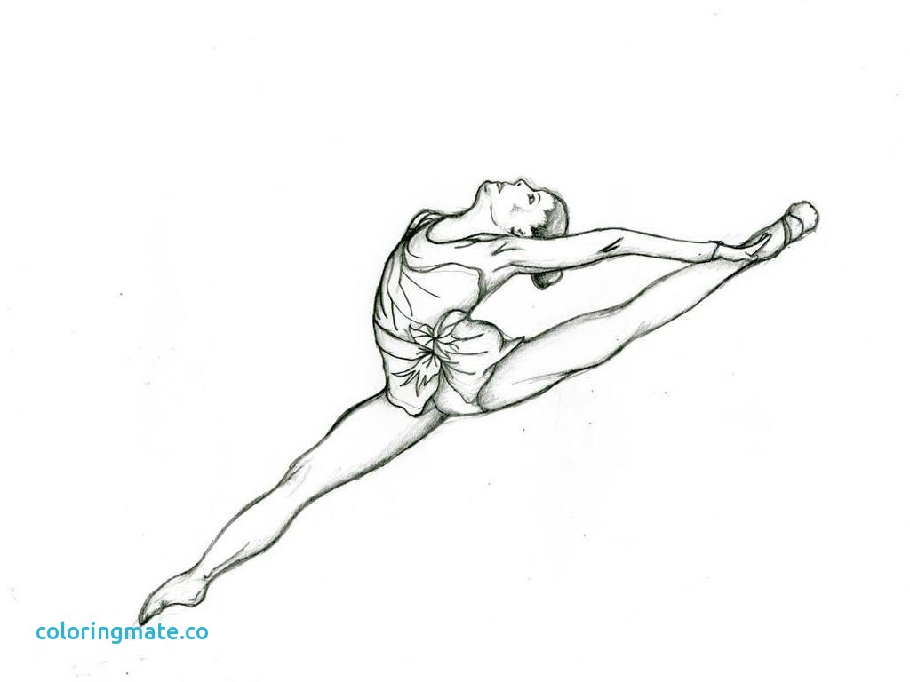 1024x768 Gymnastic Coloring Pages