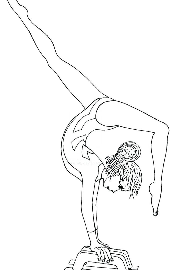 686x1080 Barbie Gymnastics Coloring Pages Free Gymnastics Coloring Pages
