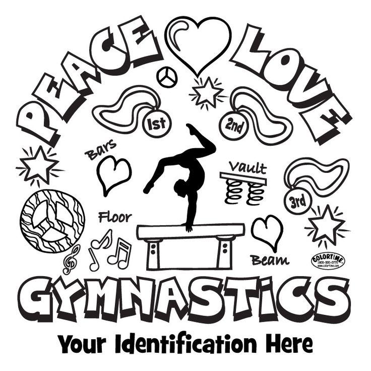 736x736 Enjoyable Gymnastics Coloring Pages To Print Printable For Kids