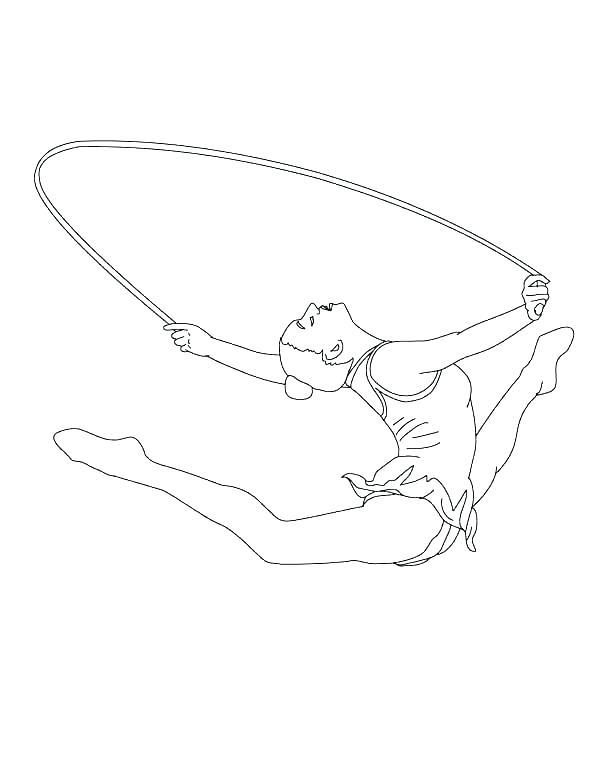 600x775 Gymnastic Coloring Pages Gymnastics Gymnastics Bars Coloring Pages