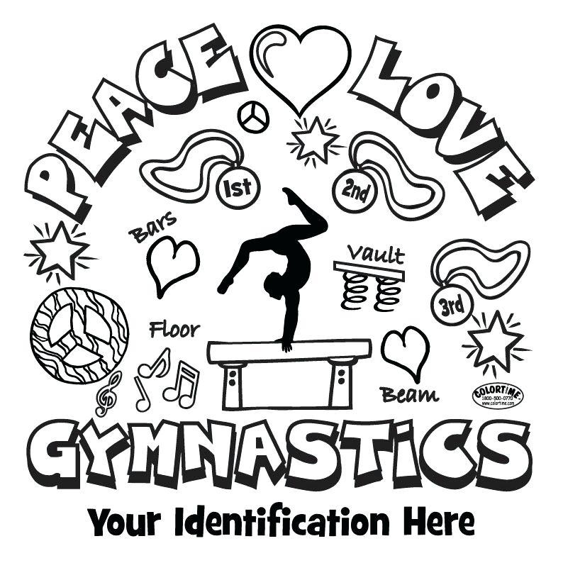 794x794 Gymnastic Coloring Pages Printable Gymnastics Gymnastics Leotard