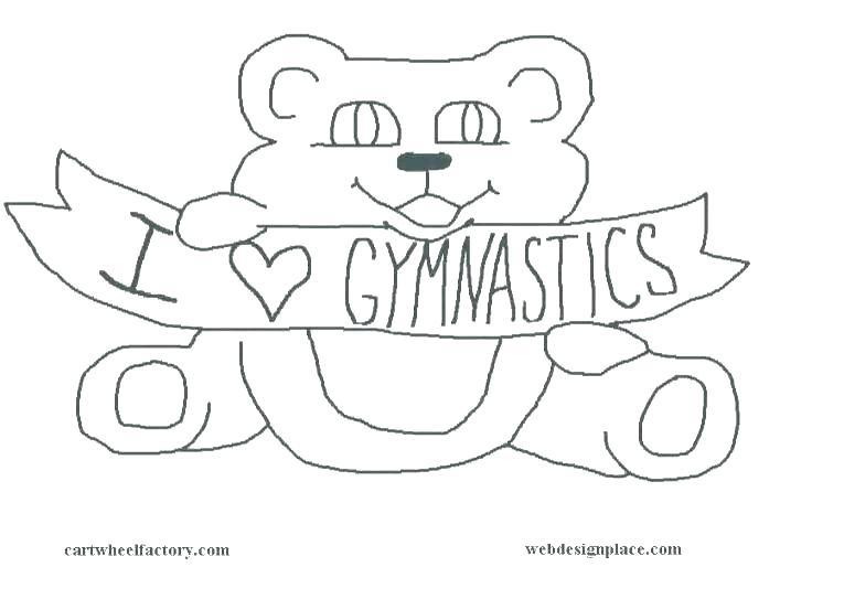 765x553 Printable Gymnastics Coloring Pages Printable Gymnastics Coloring