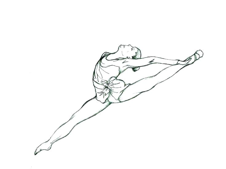 736x552 Gymnast Coloring Pages Barbie Gymnastics Coloring Pages