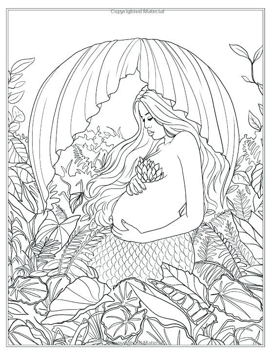 564x729 Just Add Water Coloring Pages Mermaid Coloring Pages Artist