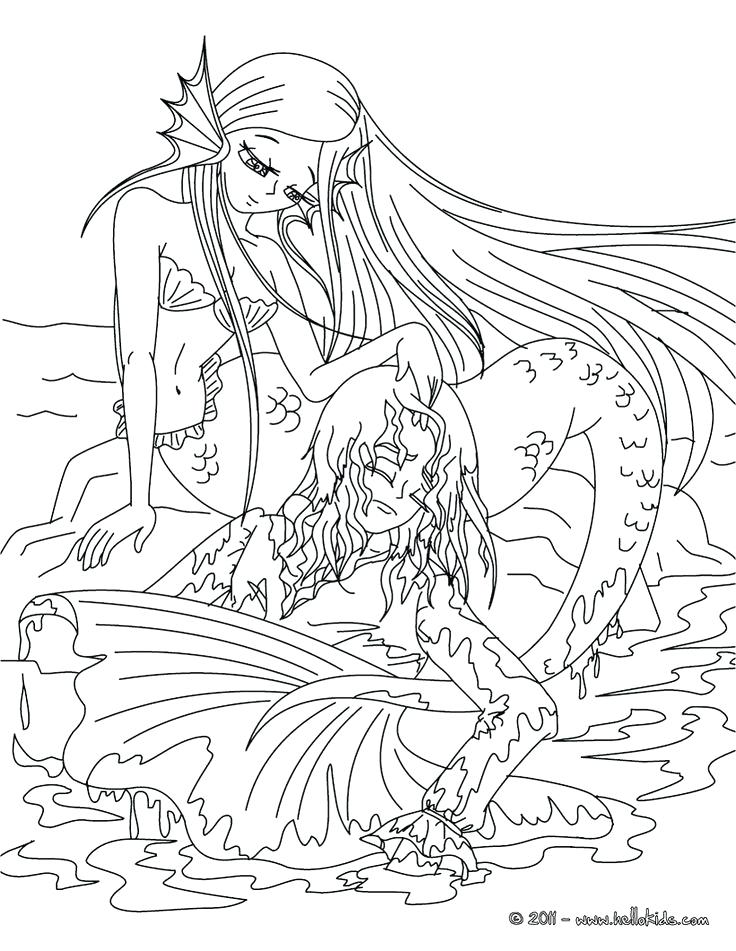 736x951 Just Add Water Coloring Pages The Little Mermaid Tale Coloring