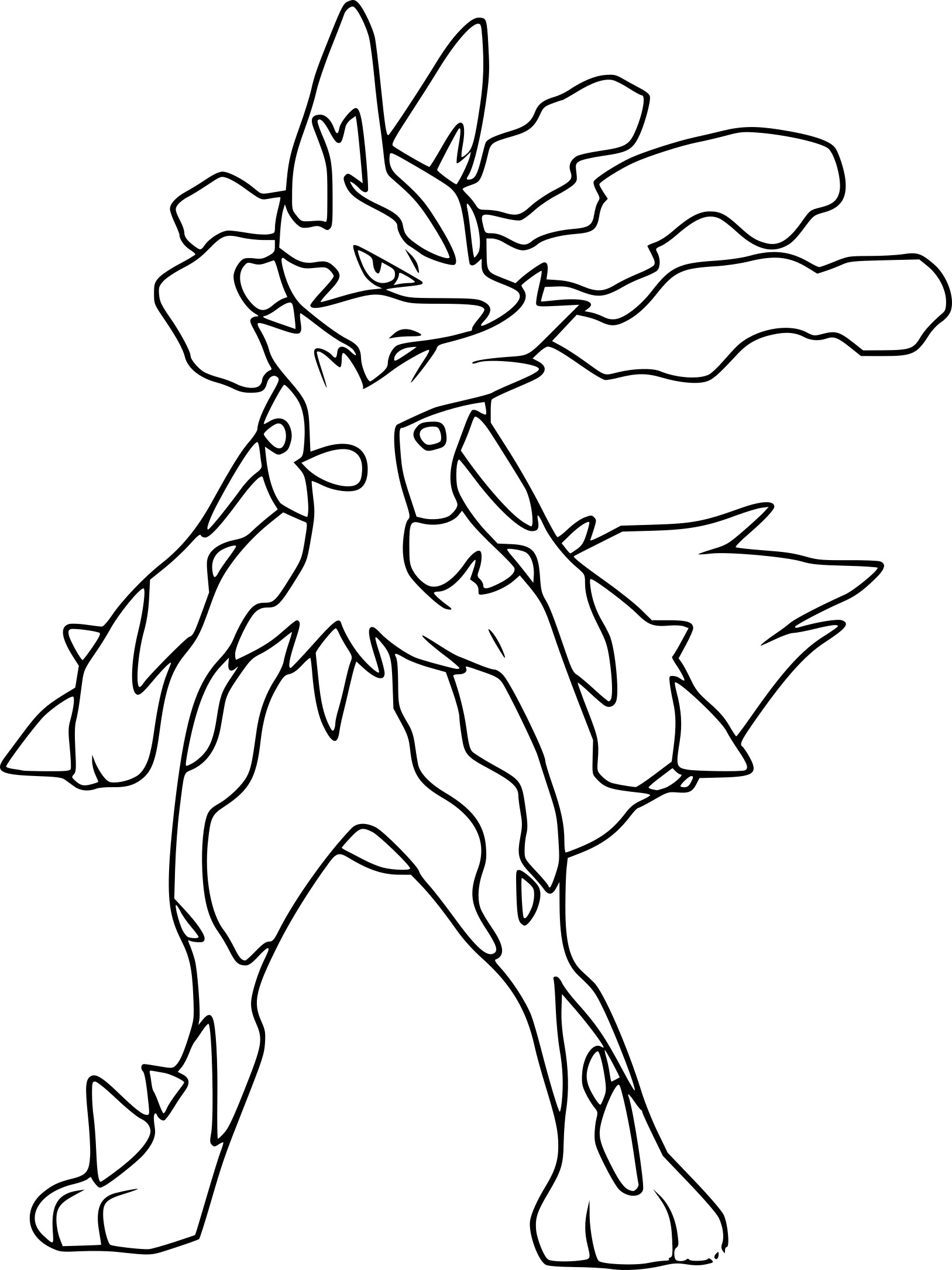 1627x2170 Hair Coloring Pages