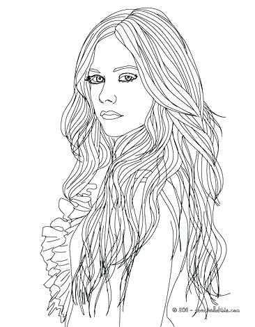 Hair Coloring Pages At Getdrawings Com Free For Personal Use Hair