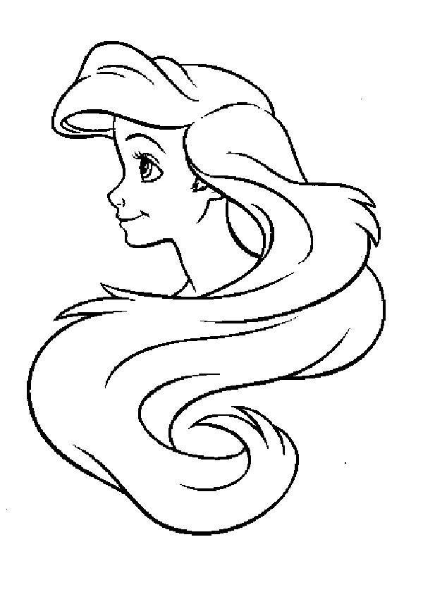 600x840 Hair Coloring Pages With Regard To Plan