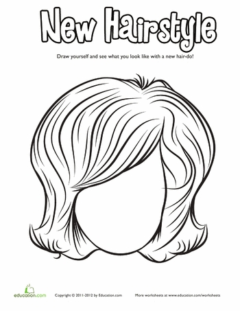 350x453 Hairstyle Coloring Pages Fair Luxury Hair Coloring Pages
