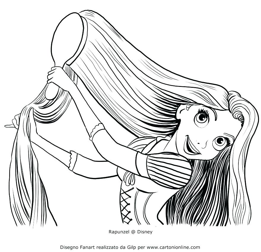 880x850 Bow Coloring Page Good Hair Coloring Pages Best Of Brushing Her