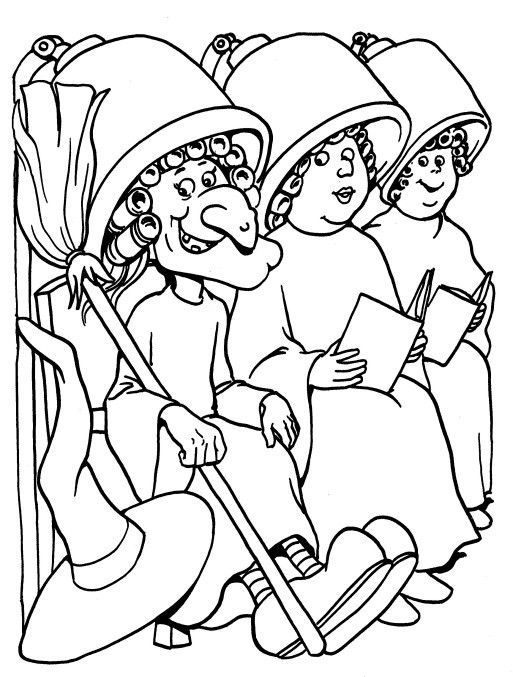 513x677 In Hair Salon Coloring Pages
