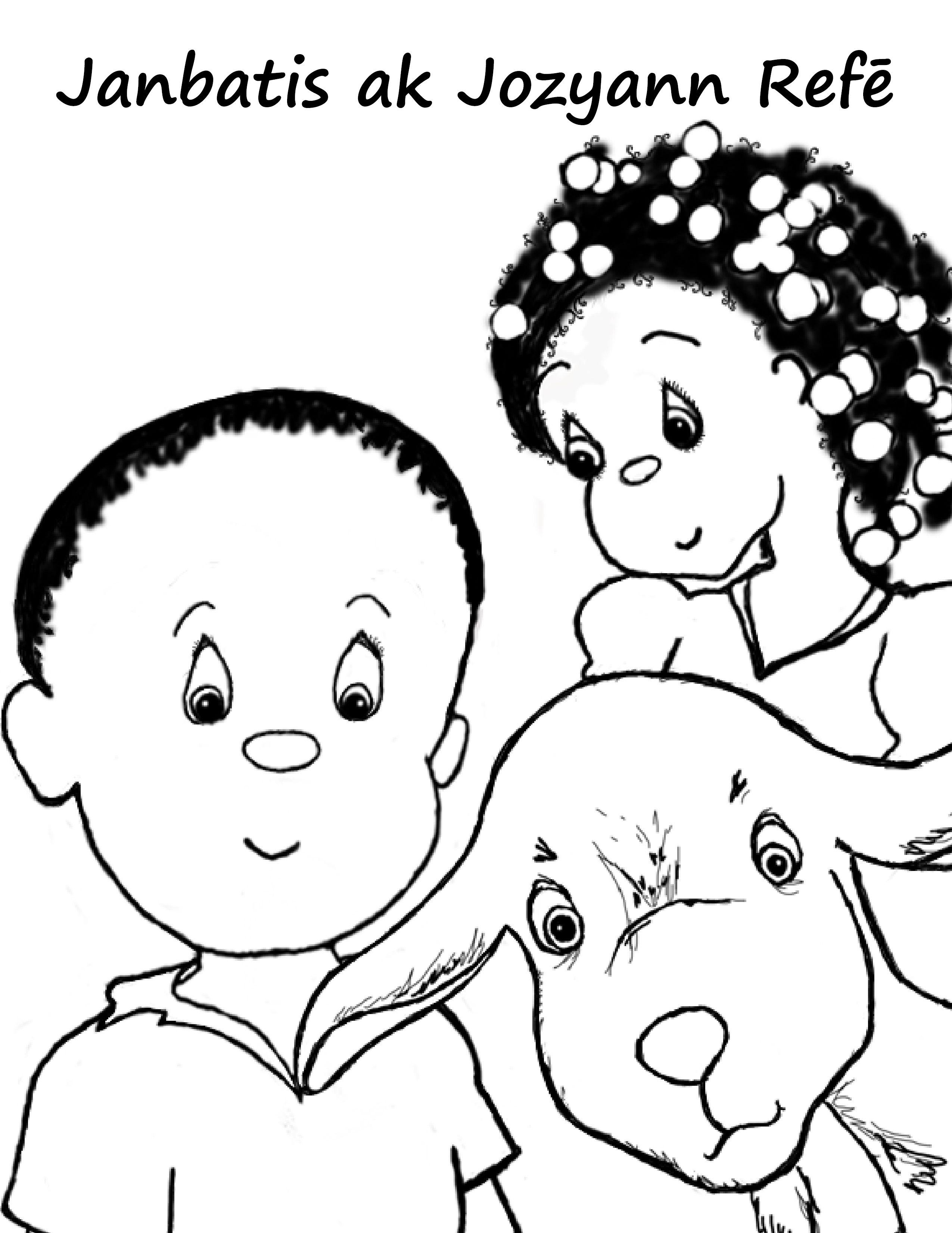 2550x3300 Haiti Children Coloring Pages Haiti Printables