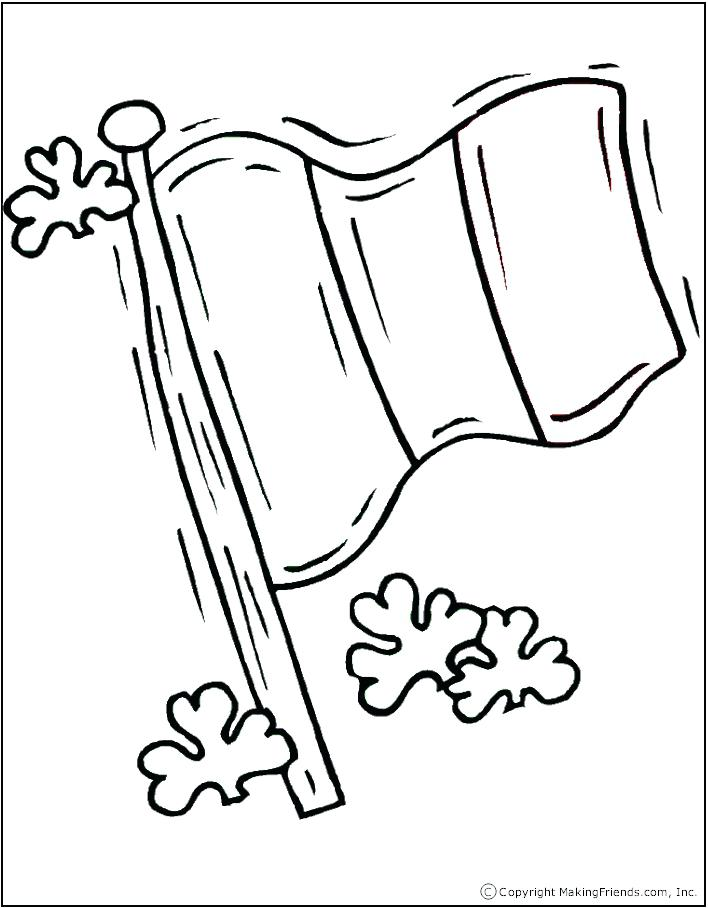 708x908 Haiti Flag Coloring Page And Flag Coloring Pages Haiti Flag