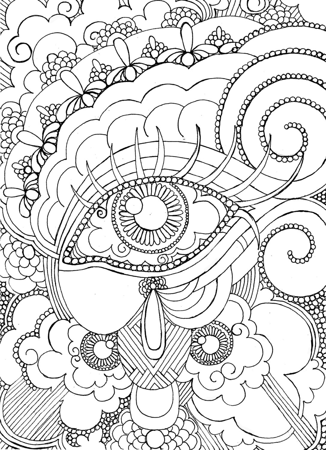1088x1500 Printable Adult Coloring Pages