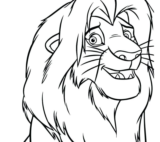 678x600 Lion King Simba Coloring Pages Lion King Pictures To Color