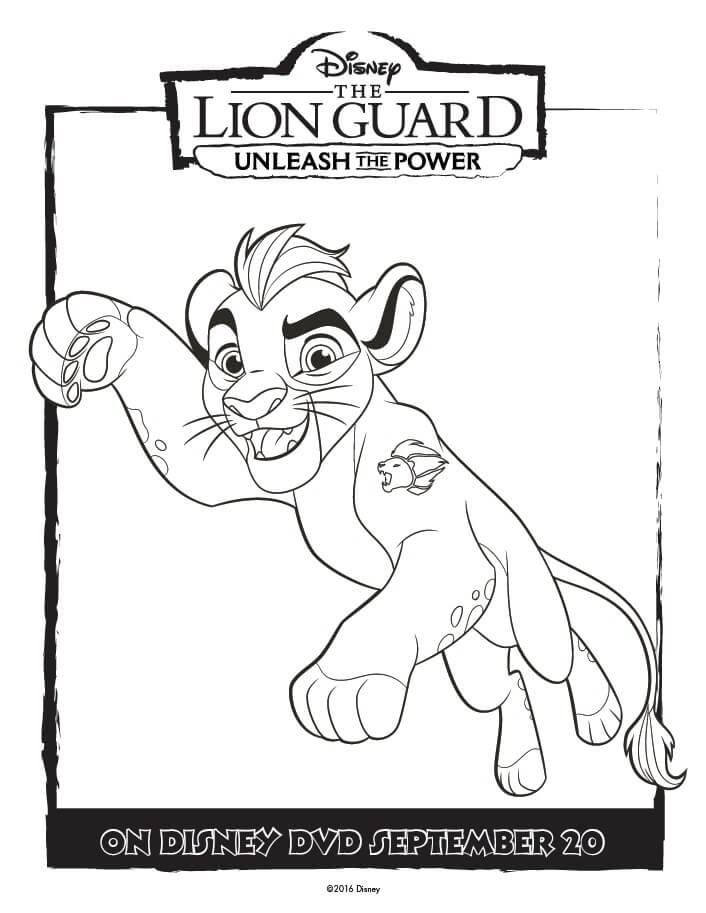 706x913 The Lion Guard Coloring Pages