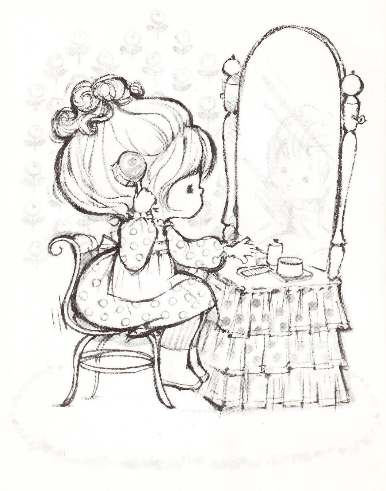 1259x1600 Cute Hallmark Charmers Coloring Pages Girl