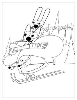 265x343 Free Christmas Printables From Hoops And Yoyo Hallmark Ideas