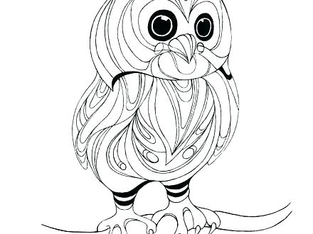 440x330 Baby Owl Coloring Pages Mother S Day Coloring Pages Hallmark Ideas