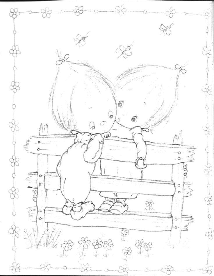 736x950 Betsy Clark Coloring Book Hallmark Betsy Clark