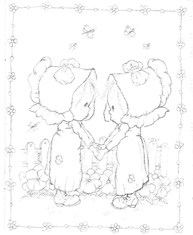 800x973 Betsy Clark Coloring Book Hallmark Coloring Pages