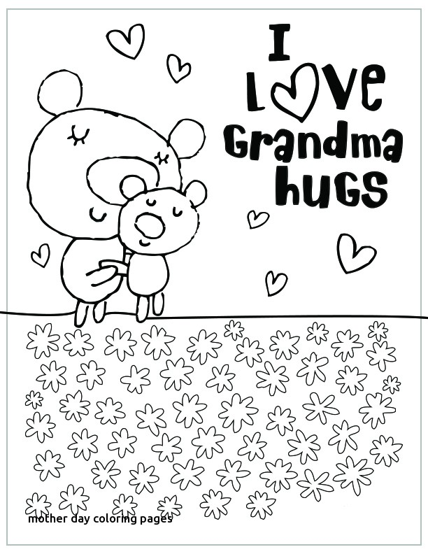 612x792 Bright Idea Mother Day Color Pages Printable S Coloring Hallmark
