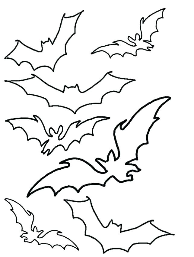 643x850 Halloween Bats Coloring Pages Bat Draw So Cute Coloring Pages