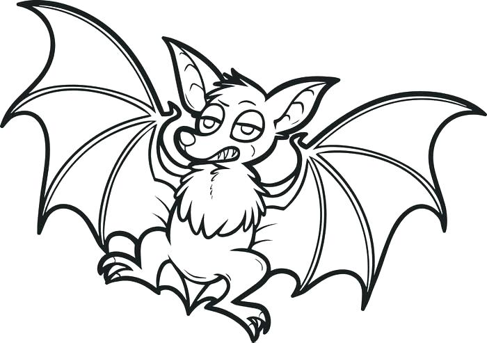 700x493 Halloween Bats Coloring Pages Here Are Bat Coloring Pages Pictures