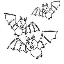 220x220 Nocturnal Bats Coloring Pages
