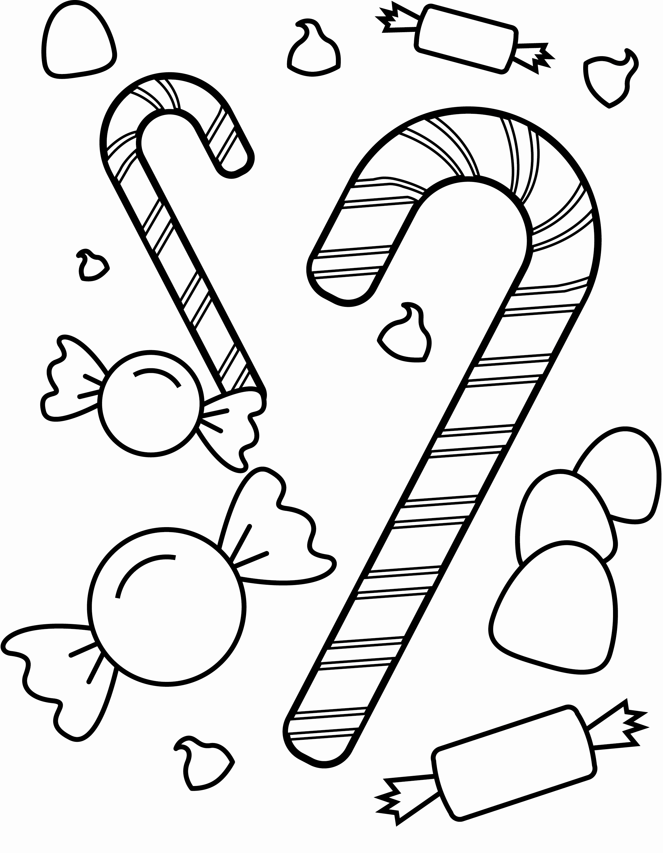 2268x2916 Halloween Candy Coloring Pages Fresh Candy Coloring Pages Funny